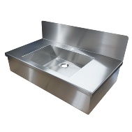 Washbasin with facing