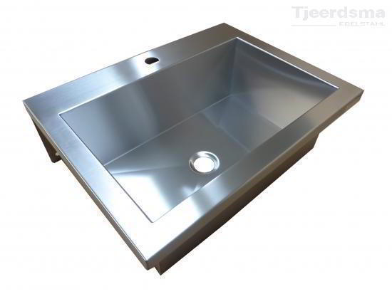 Industrial Sinks Stainless steel basin for wall mounting