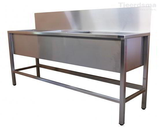 Stainless Industrial Sink : Stainless steel sink - Industrial Sinks - Tjeerdsma Edelstahl