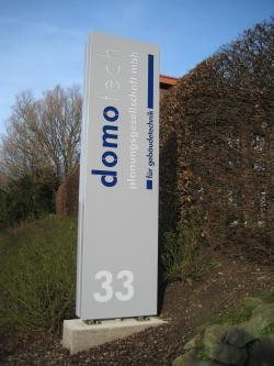 Advertising pylon