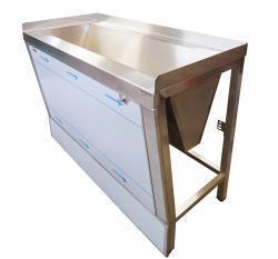 Stainless steel hygiene sink